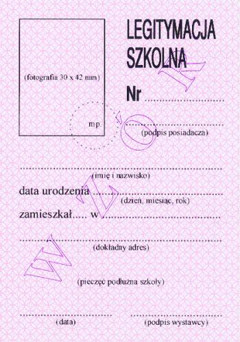 Legitymacja.szkolna.rozowa.awers